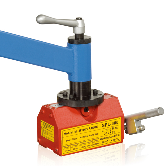 Optional Accessories of Tapping Machine Portable Permanent Magnetic Base GPL-300